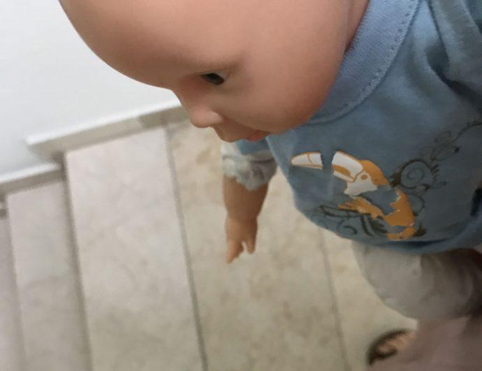 Puppe kleiner Mann