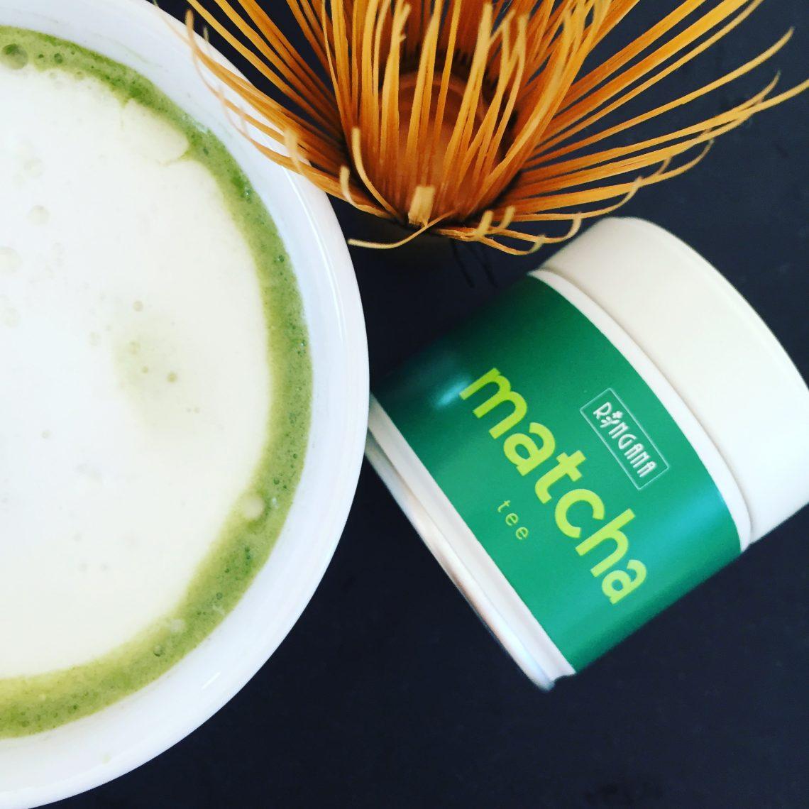 RINGANA Matcha Tee - die natürliche Alternative zu Kaffee