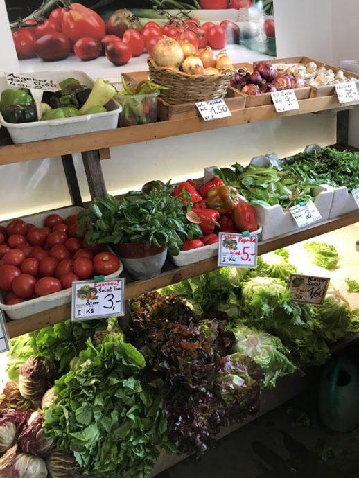 Gemüseeinkauf - 12 von 12 im August
