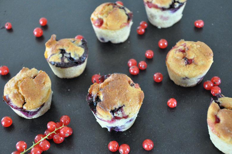 Buttermilch-Beeren Muffins