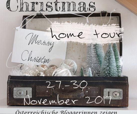 Christmas Home-Tour österreichischer Bloggerinnen - kommt mit und besucht unsere weihnachtlich dekorierten zu Hause