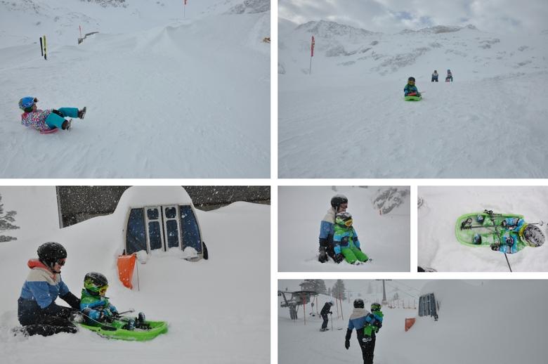 Rodelspaß Gletscherwelt Weisssee Uttendorf in Mitten der hohen Tauern