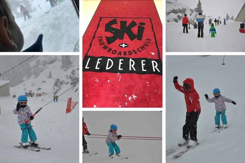 Skitag in der Skischule Lederer in der Gletscherwelt Weisssee Uttendorf in Mitten der hohen Tauern