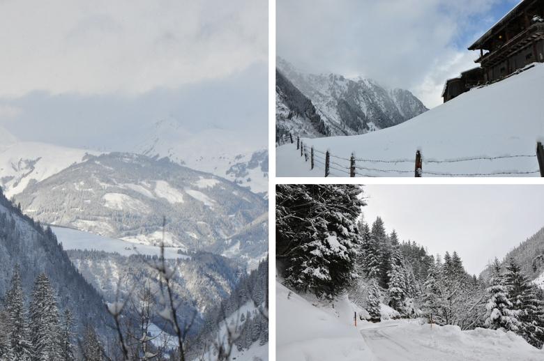 Anreise in die Gletscherwelt Weisssee Uttendorf in Mitten der hohen Tauern