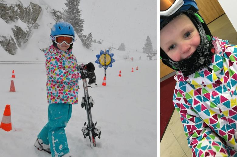 glückliche Kinder in der Gletscherwelt Weisssee Uttendorf in Mitten der hohen Tauern