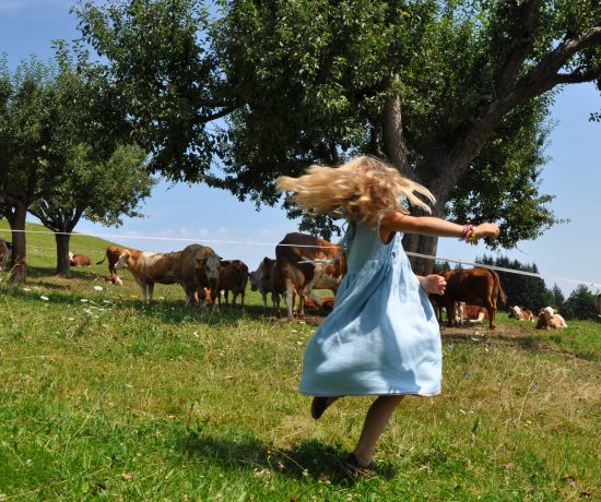 Leinenkleid Mamalamadesign Leinen für Kinder