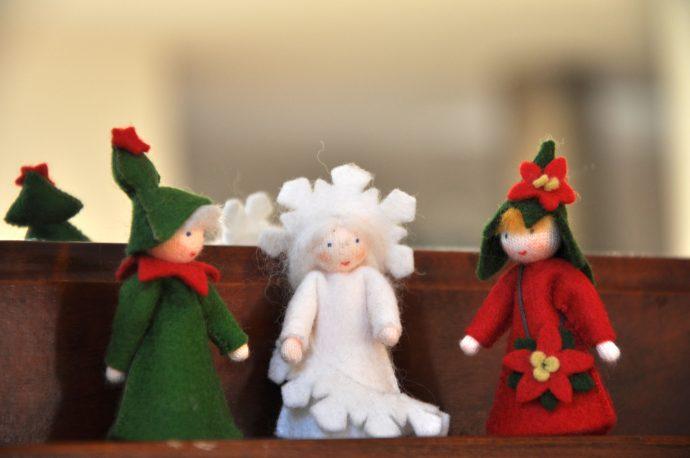 Weihnachtswichtel im Hausnummersechs