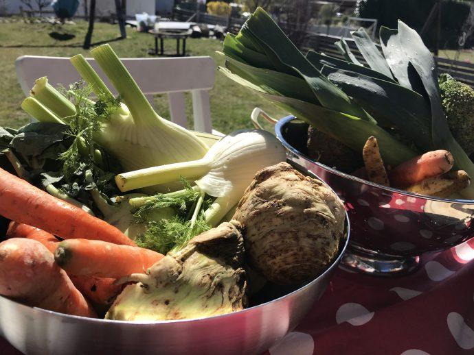 Zutaten Instant Gemüsesuppe bzw. Gemüsepaste