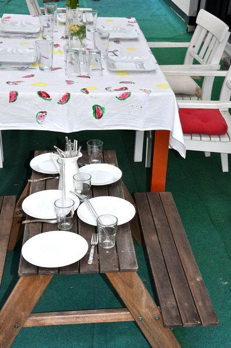 die nachhaltige Tischdeko